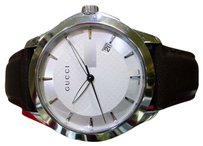 Gucci Gucci Ya126406 Mens G-timeless 126.4 Series Silver Tone Stainless Steel Watch