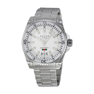 Gucci Gucci White Dial Mens Watch
