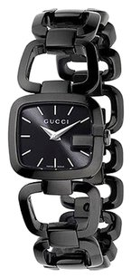 Gucci Gucci Womens Black IP Steel Swiss Made Watch