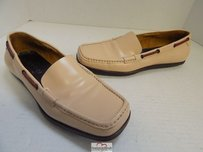 Gucci Leather Loafers W Beige Flats