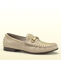 Gucci Gucci Mens 1953 Horsebit Loafer In Studded Gucci 11.5/us 12.5 311146 1523