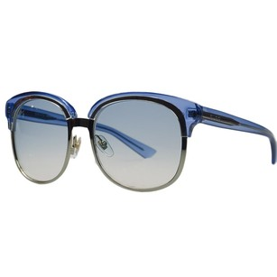 GUCCI Made In Italy Blue Gucci Designer Sunglasses with gorgeous case & cleaning cloth