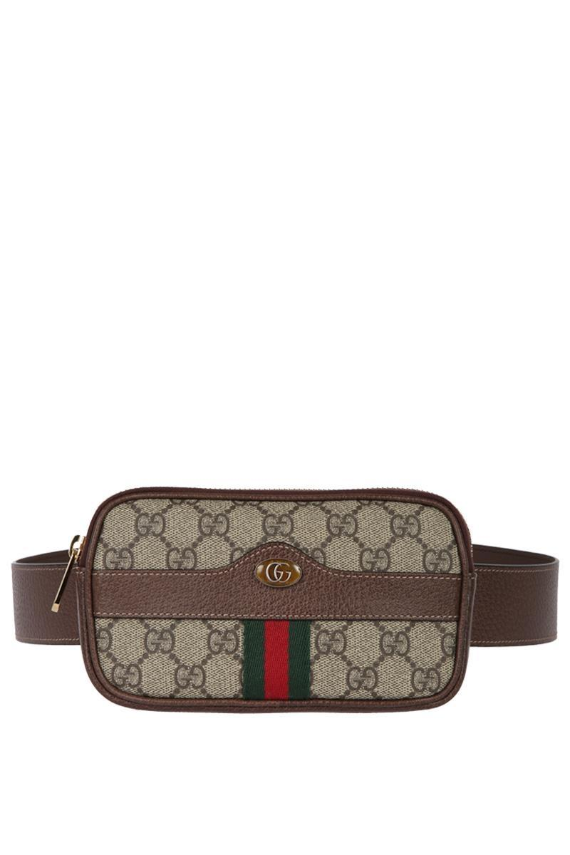 Brown Mini GG Supreme Default Belt Bag Gucci invpQ7qOZa