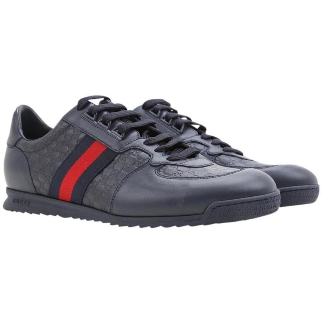 gucci shoes for sale. gucci navy athletic shoes for sale
