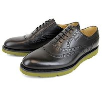 Gucci Mens Leather Dress Shoes Oxford Wlogo 322483 1000