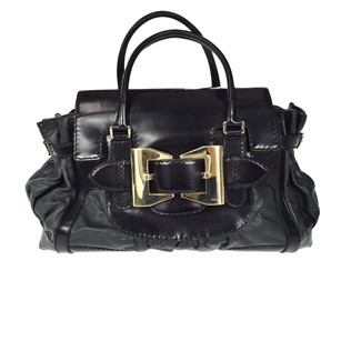 Gucci Patent Leather Hand Baguette