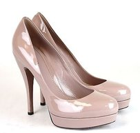 Gucci Patent Leather Platform Pink Pumps