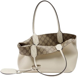 Gucci Reversible Tote in Off White