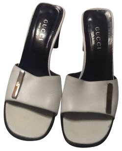 GUCCI SANDALS White Mules