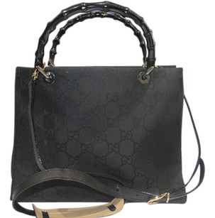 Gucci Satchel in Black Monogram