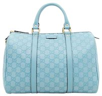 Gucci Satchel in light green pale