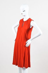 Gucci short dress Orange Dark Crepe on Tradesy