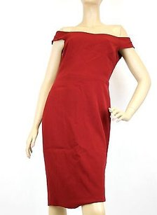 Gucci short dress Red Off The Shoulder Shift on Tradesy