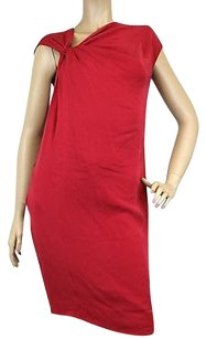 Gucci short dress Red Silk Wknot 38 on Tradesy