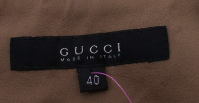 Gucci Silky Trouser Pants GOLD