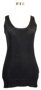 Gucci Stretchy Metallized Top Black