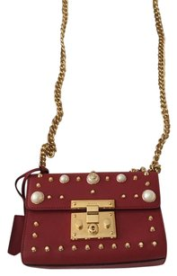 Gucci Studded Leather Cross Body Bag