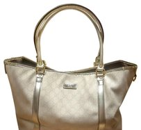 Gucci Tote in White Grey