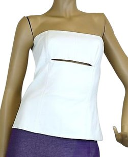Gucci Tube Sleeveless Top White