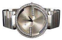 Gucci Unisex Gucci Stainless Steel Mm Interlocking Gg Diamond Watch Ct Ya133308