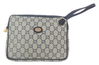 Gucci Vintage Wristlet in Blue