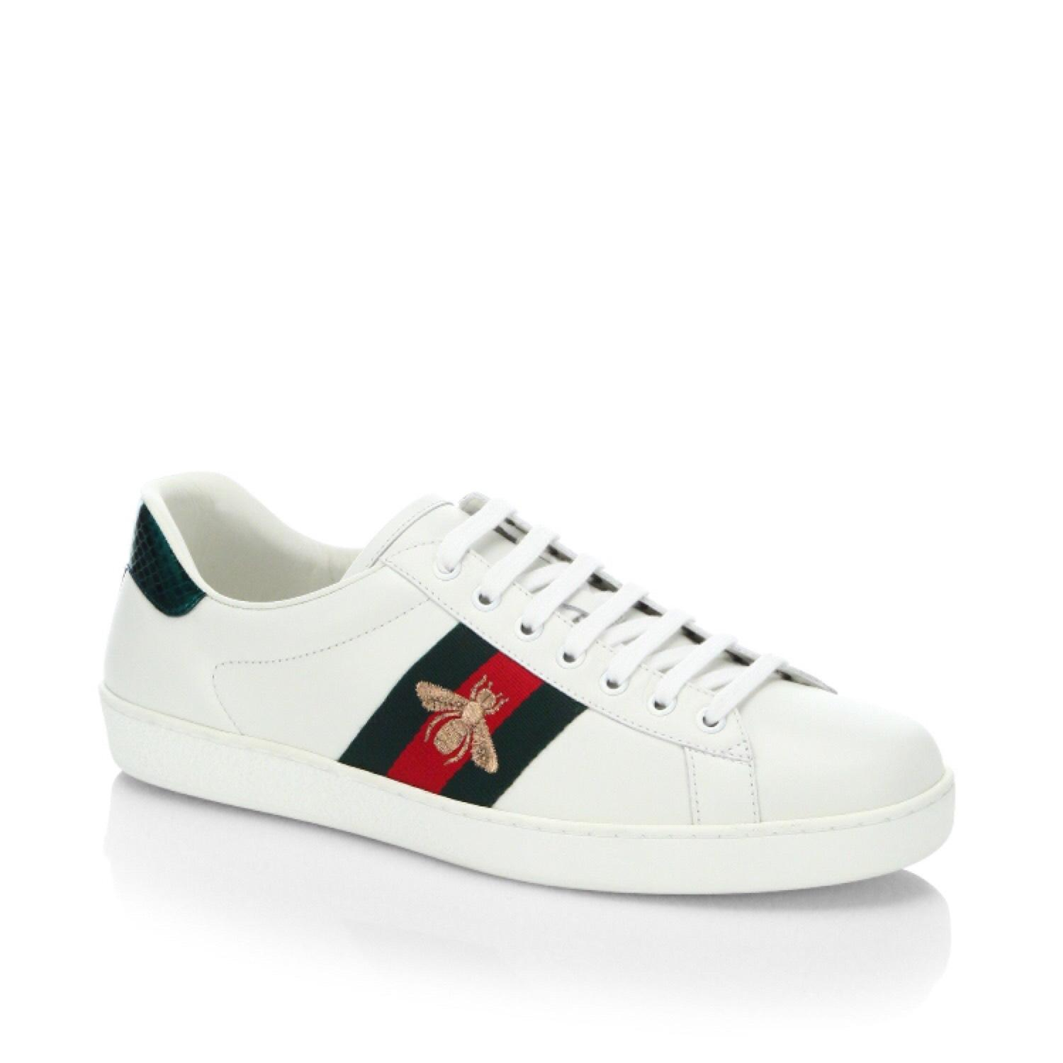 Gucci White Athletic ...