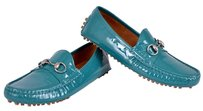 Gucci Women's Loafers Green Flats