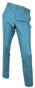 Gucci Wool Cashmere Skinny Skinny Pants Teal