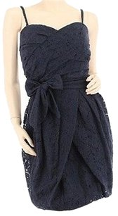 Blues Maxi Dress by GUESS Designer Navy Lace
