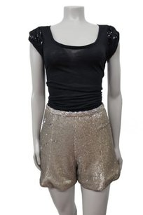 Guess By Marciano Jacqetta High Waisted Mini/Short Shorts champagne