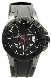 Guess Guess Black Silicone Mens Watch U0034g3