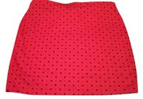 Guess or 2 for $25 (see details below) Mini Skirt Red & Black Polkadot