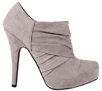 Guess Nwt Micro Suede Grey Boots