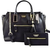 Guess Aydriana Satchel in Black