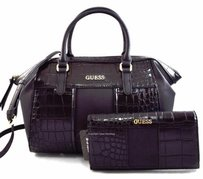 Guess Paradis Satchel in Black