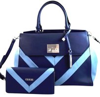 Guess Fireside Satchel in Blue