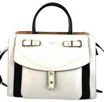 Guess Kingsley Off White Satchel in Ivory