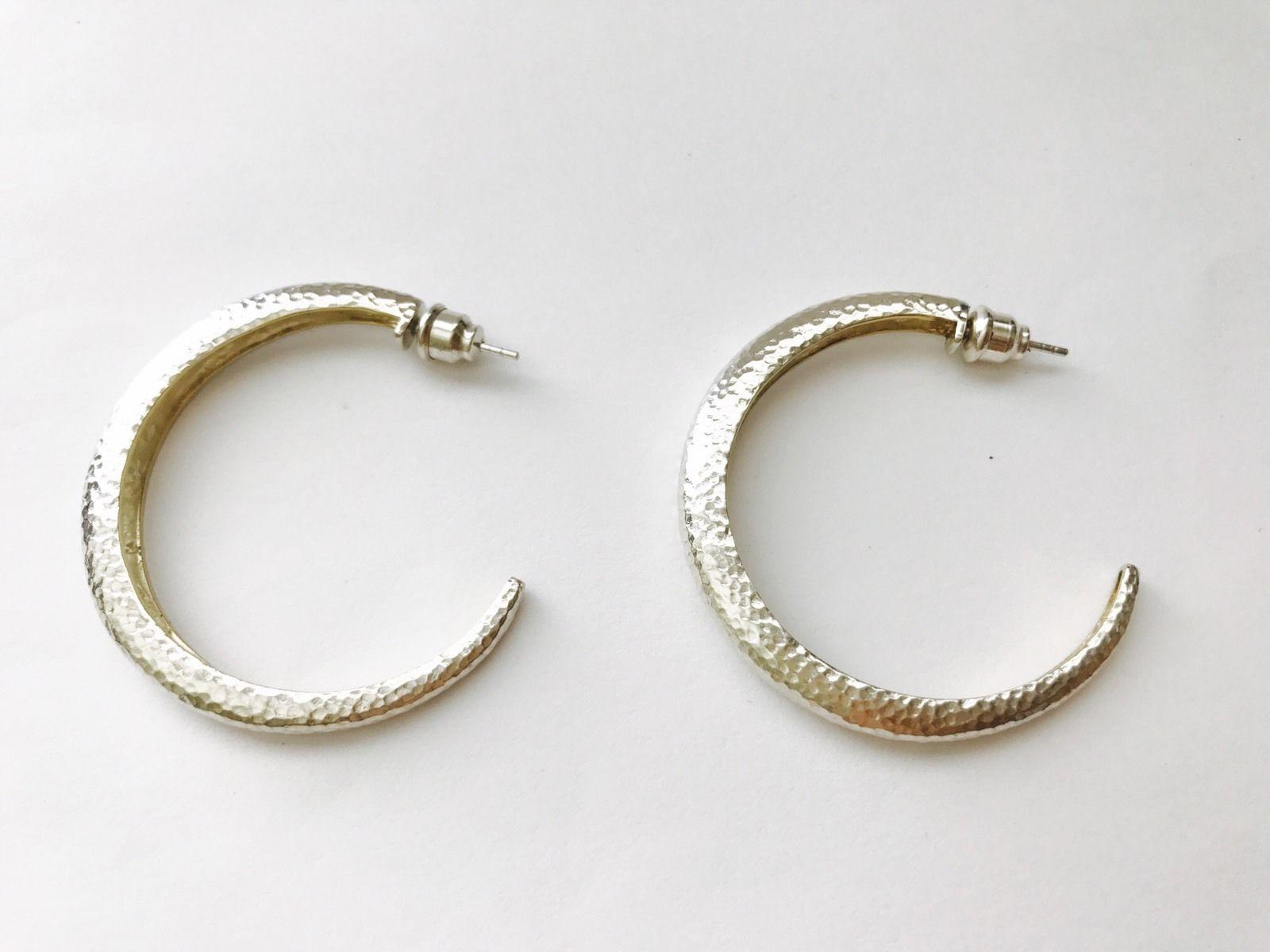 Gurhan Hoopla Tapered Hoop Earrings ZB2Mu