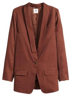 H&M Dark Rust Red Jacket