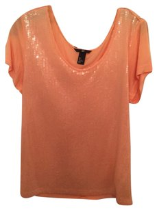 H&M T Shirt Orange