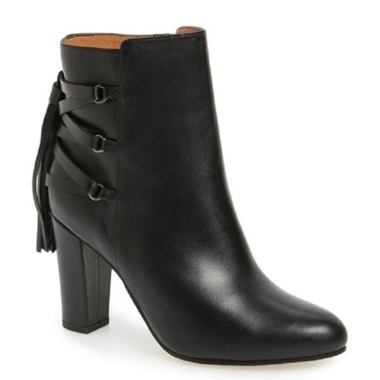 Sadee Leather Booties jkFNYZpwK5