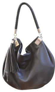 Halogen Leather Coach Hobo Bag