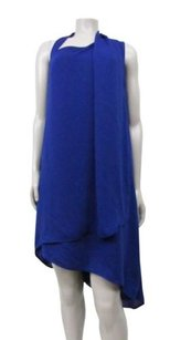 Halston short dress bright indigo Heritage on Tradesy