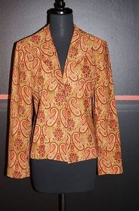 Harvé Benard Multi Polyesterspandex Blazer Multi-Color Jacket