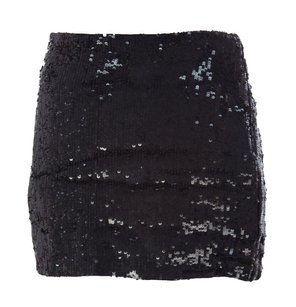 Haute Hippie Shorts & Skirts,womens,hautehippie_skirt_hhh0114044_black_xs