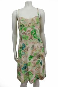 HD in Paris short dress Beige green Anthropologie on Tradesy