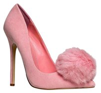 Heart's Collection Closed-toe Pink Pumps