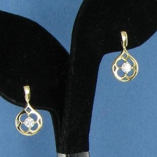 Hearts on Fire Hearts On Fire Copley Single Drop Earrings 0.48cts Diamonds 18k Ygold