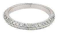 Hearts on Fire Hearts On Fire Felicity Knife Edge 18k White Gold Eternity Band Ring-size 6.75