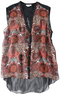 Helmut Lang Back Floral Ew Top